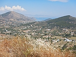 View over the island of Salamina, Greece