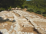 Remains of the Mycenaean acropolis of Ajax near Kanakia, Greece