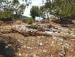 The Mycenaean acropolis of Ajax near Kanakia, Greece
