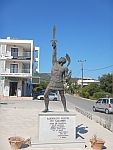 Statue of the warrior Ajax, Greece