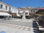 Square in Poros, Greece