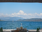 View of the east coast of the Peloponnese from Poros