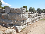 The grounds of the temple of Poseidon on Poros