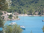The Russian bay on Poros