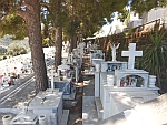 The old cemetery of Andros, Greece