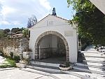 Sariza well in Apikia, Andros, Greece