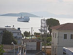 The ferry from Rafina to Marmari, Greece