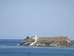 Island off the southwest coast of Evia, Greece