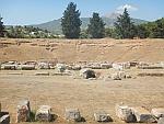 The amphitheater of Eretria, Greece