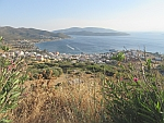 The port town of Marmari on Evia, Greece