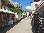 Souvenir shops in Afytos, Greece