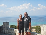 Finally another picture of us together, in Afytos, Greece