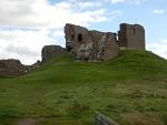 Duffus Castle near Elgin, Scotland