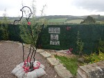 Monument for D-Day, Selkirk, Scotland