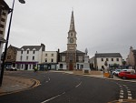 The center of Selkirk, Scotland