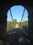 Union Bridge, a border crossing between Scotland and England, Scotland