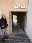 Passage to a courtyard, Jedburgh, Scotland