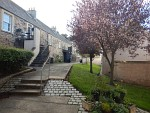 Courtyard in Jedburgh, Scotland