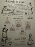 Children under 10 were also put in prison, Jedburgh, Scotland