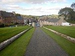 Jedburgh seen from Castle Jail, Scotland