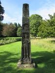 King James obelisk, Dryburgh Abbey, Scotland