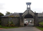 Gateway to a farm, Bowhill, Scotland