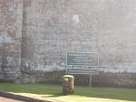 Sign at Wedderburn Castle, Scottish Borders, Scotland