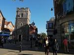Saint George tower, Canterbury, Scotland