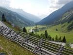 Valley at Arlberg, Austria