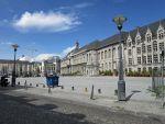 Palace of the Prince-Bishops on Place Saint-Lambert, Liege, Belgium