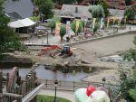 Devastation after the floods, Coo, Belgium