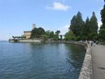 Montfort Castle, Langenargen at Lake Constance, Germany