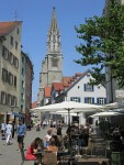 The center of Konstanz, Germany