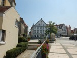 Center of Hechingen, Germany