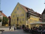 Market Square in Wangen, Germany