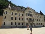 Government Building in Vaduz, Liechtenstein, Liechtenstein
