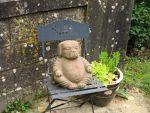 Dog-Buddha in Vianden, Luxembourg
