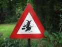 Beware of low flying witches