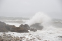 Storm on the coast of Arran